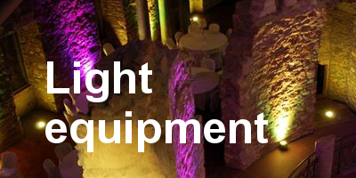 light equipment rental in Frankfurt am Main